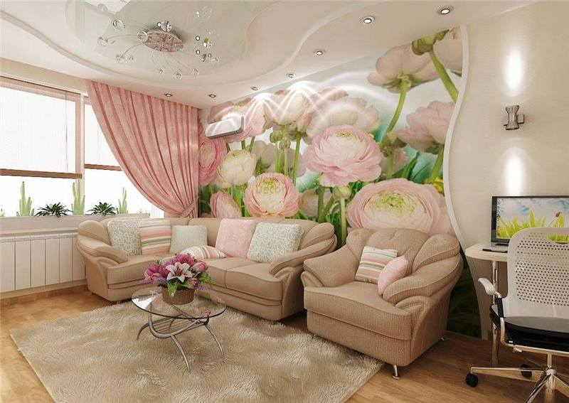 Deco romantique Deco romantique salon