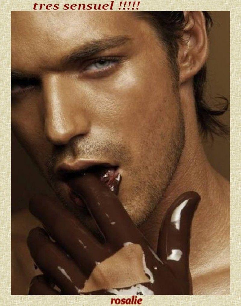 Сексуальные девушки в шоколаде 9 фотография